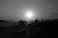 On a hot summer evening... (Nikos.K.) Tags: 2018 greece drapetsona film 135 expiredfilm ilford fp4 fp4125 d76 homebrewdeveloper blackandwhite bw olympusom2n zuiko 50mm18