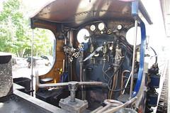 IMGP1050 (Steve Guess) Tags: strathspey steam heritage preserved railway train aviemore highlands scotland gb uk caledonian 828 loco locomotive 060 cab