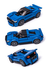 75871 Hypercar (KEEP_ON_BRICKING) Tags: lego moc speed champions set 75871 mod hypercar car vehicle ford mustang rebuild alternate keeponbricking