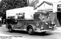 1947 LaFrance 1500 GPM (buldg216) Tags: americanlafrance fire fireengine pumper service old engine