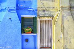 Blue & Yellow (Luca Bobbiesi) Tags: urban facade bura burano venice veneto colors colorful colori canoneos7d canonef24105mmf4lisusm