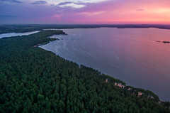 Aerial Sunset (free3yourmind) Tags: aerial sunset forest nature sea minsk belarus clouds cloudy day colorful xiaomi mi drone quadcopter
