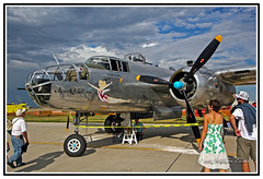 History - The Magnificent Flying Machine - B-25 - USA Bomber. (Bill E2011) Tags: usa history bomber
