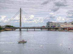 Southport (Ian Gedge) Tags: england uk britain merseyside southport seaside lake water pier bridge