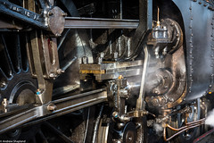 Valve Gear (Articdriver) Tags: gresley a4 pacific railway trains steam locomotive lner valves pistons wheelsoil grease valvegear motion cylinder