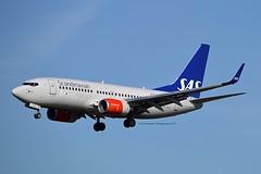 """Ubbe Viking"" SAS Scandinavian Airline System SE-RJU Boeing 737-76N Winglets cn/29885-1120 @ Zwanenburgbaan EHAM / AMS 06-04-2018 (Nabil Molinari Photography) Tags: ubbeviking sas scandinavian airline system serju boeing 73776n winglets cn298851120 zwanenburgbaan eham ams 06042018"