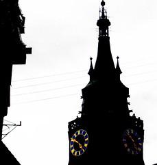 Siluette Stiftskirche  Tübingen -  Scherenschnitt, aka  silhouette, siluette ,silueta, Schattenriss. (eagle1effi) Tags: stiftskirche tübingen effiart2012 eagle1effi altstadt tower church kirche city stadt tubinga tuebingen tubingen germany deutschland badenwuerttemberg württemberg stadttübingen tübingenamneckar bw schwarzweiss sw lumen lux luz light luce licht свет lumière φωσ silhouette siluette silueta schattenriss controluce contrejour contrallum contraluz podświatło gegenlicht backlight onwhite aufweissfreigestellt surfondblanc architecture architektur architekture colorkey blackwhitephotos digitalcameraclub yourbestoftoday tagesbeste ae1fave favoriten lieblingsbilder flickr photos fotos beste bestof byeagle1effi selection selektion auswahl damncool dibengâ dibenga effiart kunst erwin effinger edition tubingue 002