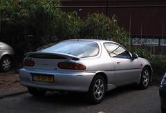 1998 Mazda MX-3 1.8i V6 (rvandermaar) Tags: 1998 mazda mx3 18i v6 mazdamx3 sidecode5 trsh18