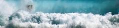 Submersion... (Sabine-Barras) Tags: réunion bodyboard reportage sport waves vagues wind vent bleu blue ocean océan sea mer waterscape people personnes water eau