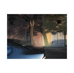 Parking place.  ( Pamplona ) (José Luis Cosme Giral) Tags: parkingplace minimalism urbannature car wall tree shadow light pamplona navarra