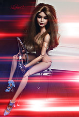 Gi Gi Hadid (ShnoorC.) Tags: barbie mattel made move gi hadid doll dollphotographer dollcollector barbiedoll light