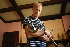 Tommy and Tsunami (tairuba) Tags: cat cornishrex
