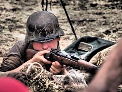 YWE2018 (clarks666) Tags: reenactors warfare history military conflict war 20thcentury ywe2018 army reenactment uniform