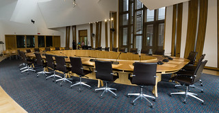 Scottish Parliament Committee Room