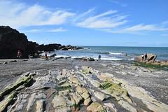 Ilfracombe Beach (James Mans) Tags: nikon d5500 uk devon england beach ilfracombe sea ocean sand seaside sky rocks sigma1750 175028 1750mm28 bay rock water coast
