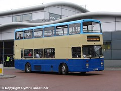 GHA Coaches M174 GRY (Cymru Coastliner) Tags: ghacoaches valetravel scanian113drb eastlancs m174gry bus wrexham midlandfox 4174