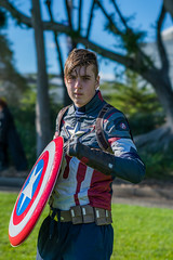DSC00244 (Damir Govorcin Photography) Tags: captain america cosplay pose supernova comic con sydney 2018 costume character marvel comics avenger person natural light sony a9 100mm stf lens super hero