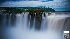 Iguazú Falls (Quique Williams) Tags: cataratas falls iguazu full moon