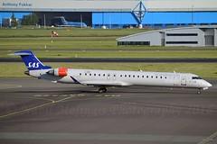 """Johan Viking"" SAS Scandinavian Airline System OY-KFA Canadair CL-600-2D24 Regional Jet CRJ-900LR cn/15206 @ EHAM / AMS 05-06-2016 (Nabil Molinari Photography) Tags: johanviking sas scandinavian airline system oykfa canadair cl6002d24 regional jet crj900lr cn15206 eham ams 05062016"