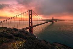 Battery Spencer (sberkley123) Tags: sausalito california d850 nikon marin marinheadlands sanfrancisco sunset fog usa batteryspencer 1424mm goldengatebridge flickrsbest
