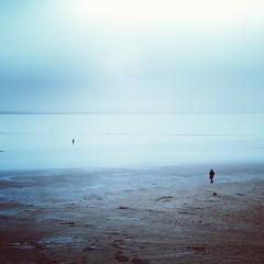 Finding ourselves (ambientlight) Tags: salt flat australia desert alone figure figures landscape vast vastness open dark cold winter siberian