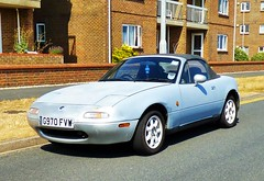 Mazda Roadster (grassrootsgroundswell) Tags: classiccar mazda mazdaroadster classicjapanesecar