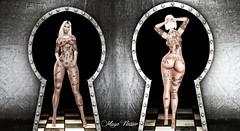 Look 136 (мαчєℓαι ηєιѕѕєя) Tags: second life secondlife sl blog kaox tattoo virtual blogger sensual dark girls woman tatuaje hot blogging fashion