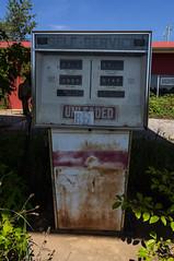 25 Quick Stop - 05 (MarksPhotoTravels) Tags: abandoned gaspump gasstation greenvillecounty southcarolina unitedstates