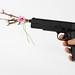 Gun with flower