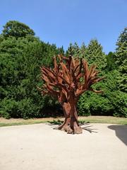 Ai Weiwei, Iron Tree, 2013 (paulineandjohng2008) Tags: yorkshiresculpturepark aiweiwei ironman weiwei
