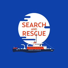 LifeLine (Philippe Nicolas) Tags: ship navire rescue secours méditerranée mediterranean help humanity humanite support bateau boat people migrant immigre refugees refugier illustration editorial edito magazine journal newspaper editorialillustration slave african european europe liberty love peace