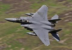 STARS (Dafydd RJ Phillips) Tags: ln134 eagle strike f15 f15e lakenheath afb usa usaf low level wales loop mach