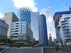 The business district of La Defense (Taking5) Tags: france paris ladefense holiday architecture