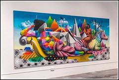 Centre del Carme Cultura Cotemporania - Valencia (Guenever45) Tags: centreculturel valencia espana valence espagne centredelcarmeculturacontemporania expo okuda peinture peintre artiste streetart couleurs