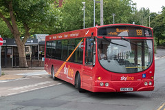 High Peak Bus Company FN04HSV (Mike McNiven) Tags: highpeak buscompany buxton hazelgrove stockport manchester airport wright scania solar skyline 199