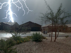 Yikes_2 (northern_nights) Tags: yikes ilightningcam2 lightning closecall scary night thunderstorm vail arizona