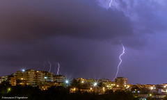 Lightnings (Francesca D'Agostino) Tags: fulmini lightnings notturno night lungaesposizione longexposition gioiatauro calabria