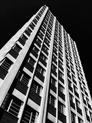 Mclennan Physical Laboratories, University of Toronto (gt223) Tags: brutalist brutalism blackandwhite highrise concrete modernarchitecture modern architecture