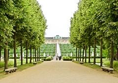 Sanssouci Palace (somabiswas) Tags: sanssouci palace potsdam germany graden trees architecture travel