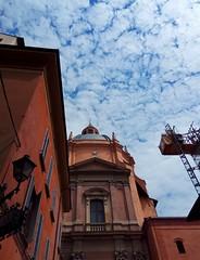 Come un dipinto.  Bologna. (silviamaggi) Tags: bologna emiliaromagna italy cielo sky view