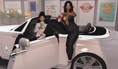 Hangin (Rachel Acoustic) Tags: anybody event tres chic billionaire motors fli revoul big boss junk food store the little bat backdrop city
