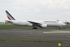 Air France  F-GSPG (airbus02) Tags: boeing b777 airfrance airport flugzeug france roissy cdg plane paris skyteam spotter spotting planespotting