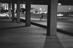 Ilford PAN 400@800 (.Laedin) Tags: monochrome 50mm soviet lens bw jupiter8 push 400800 film street ilford pan analog night composition