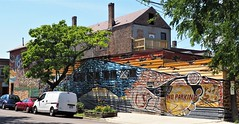 Hector Duarte Studio/Home (Brule Laker) Tags: chicago illinois art murals pilsen caf chicagoarchitecturefoundation walkpilsen hectorduarte color outdoorart