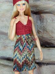 Boho Days – the crochet dress (Levitation_inc.) Tags: ooak doll dolls clothes handmade fashion fashions royalty nuface integrity toys levitationfashion etsy barbie barbiestyle poppy parker summer boho 2018
