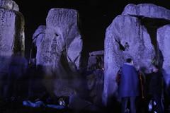 Stone expression (I.M.W.) Tags: stonehenge wiltshire salisbury plain uk england solstice summer sky blue dawn midnight stone