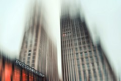 Inception..... (Eggii) Tags: street city colors structure blur architecture buildings mood berlin artwork