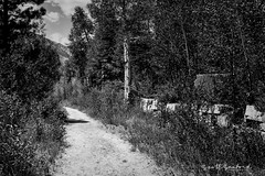 Yule Quarry_6768 (Scott Sanford Photography) Tags: 4x4 6d canon colorado ef2470f28l eos expedition exploring ghosttown marble mountains naturallight outdoor overland stone topazlabs roadtrip travel trip vacation blackandwhite bw monochrome