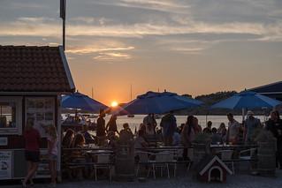 Relaxed summer evening in Fjällbacka 2/2