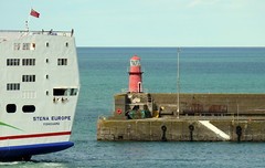 18 08 10 Stena Europe arriving Rosslare (27) (pghcork) Tags: stenaline ferry ferries carferry stenaeurope ireland wexford rosslare ships shipping